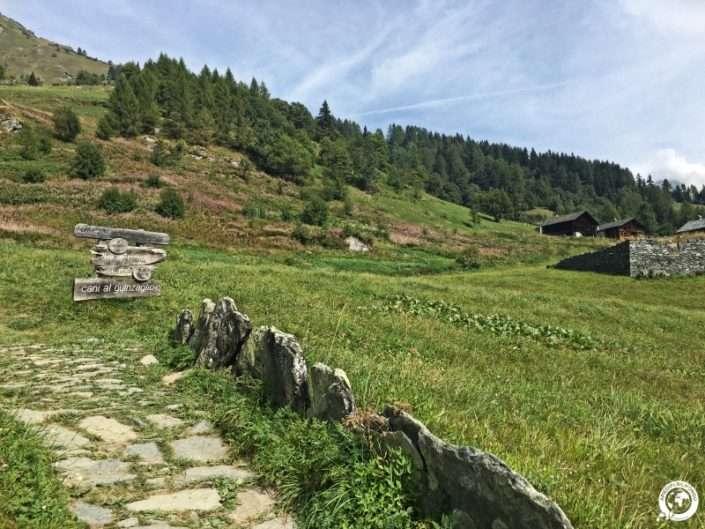 Sentiero da Alagna Valle d'Otro