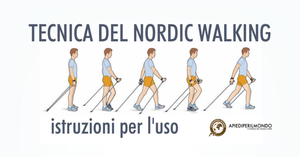 Tecnica nordic walking