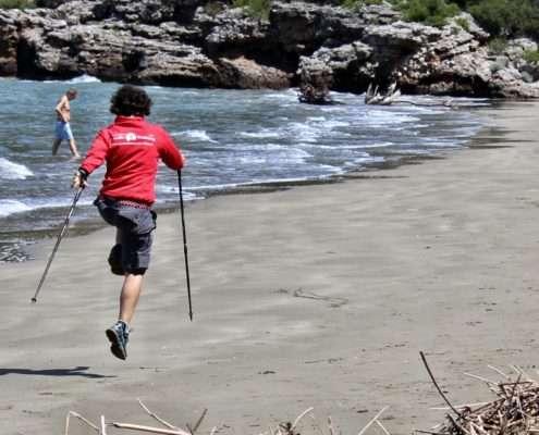 Allenarsi col Nordic Walking per un lungo viaggio a piedi