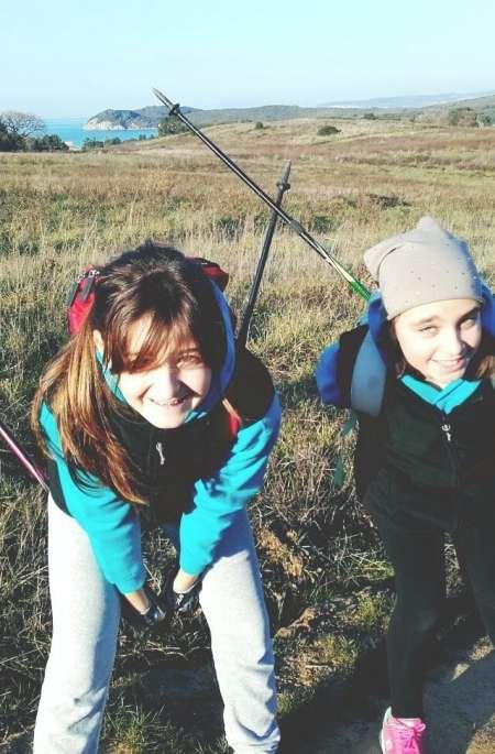 Nordic Walking per i bambini
