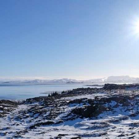 inverno a passo di Nordic Walking