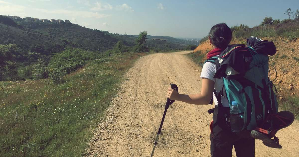 partire da soli per il cammino di santiago