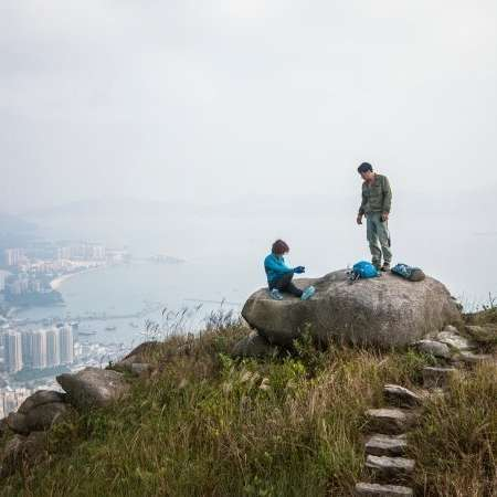 trekking a hong kong