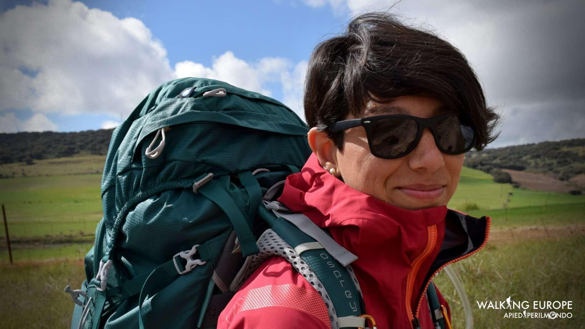 Osprey Aura AG 65Women Trekking Zaino, Foresta pluviale, WM
