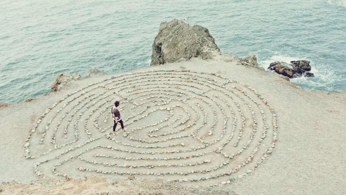 camminare meditando