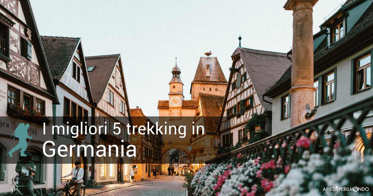 trekking in Germania