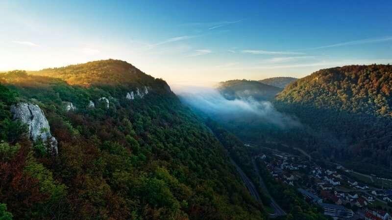 trekking in Germania