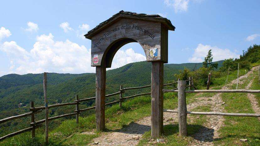 Via Francigena Passo della Cisa Lucca