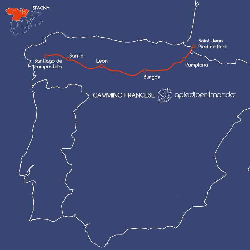 Cammino di Santiago Apiediperilmondo