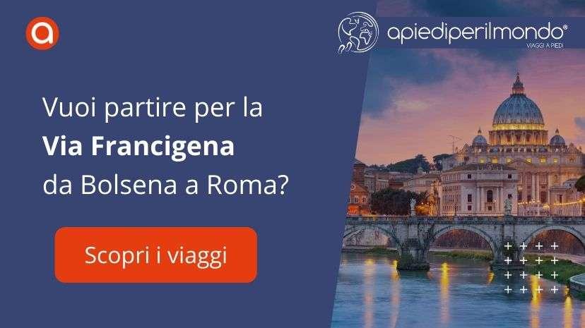 Via Francigena Bolsena Roma