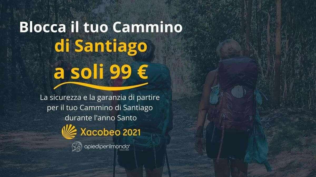 Cammino di Santiago offerta