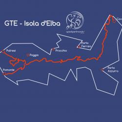 Mappa Grande Traversata Elbana - apiediperilmondo